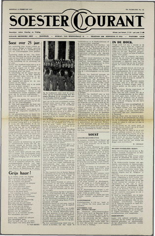 Soester Courant 1952-02-12