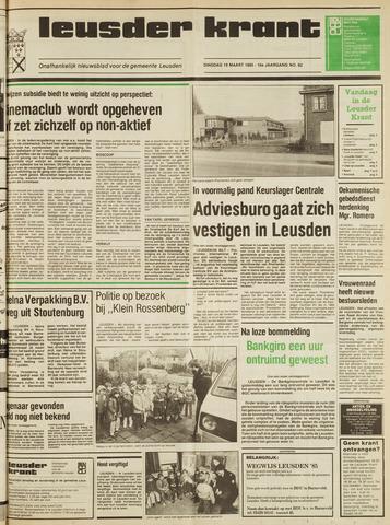 Leusder Krant 1985-03-19