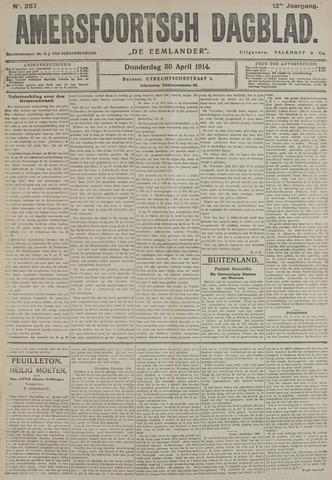 Amersfoortsch Dagblad / De Eemlander 1914-04-30