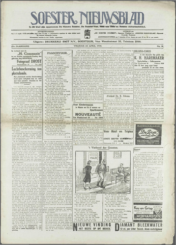 Soester Courant 1938-04-22