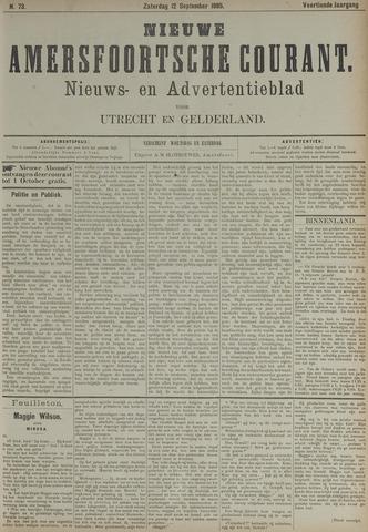 Nieuwe Amersfoortsche Courant 1885-09-12