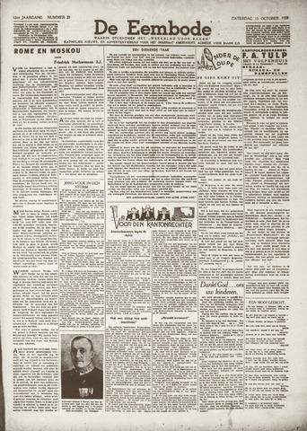 De Eembode 1938-10-15