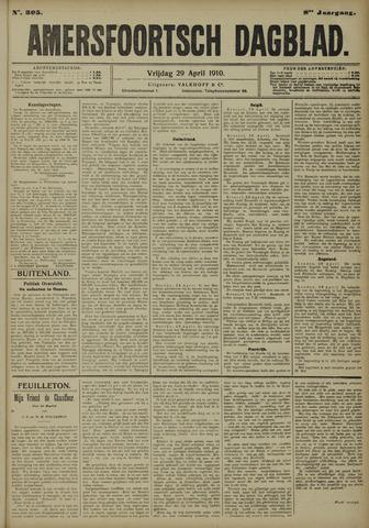 Amersfoortsch Dagblad 1910-04-29