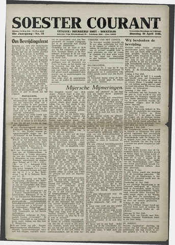 Soester Courant 1946-04-30