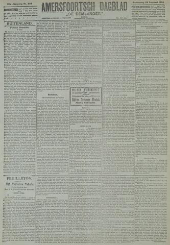 Amersfoortsch Dagblad / De Eemlander 1922-02-23