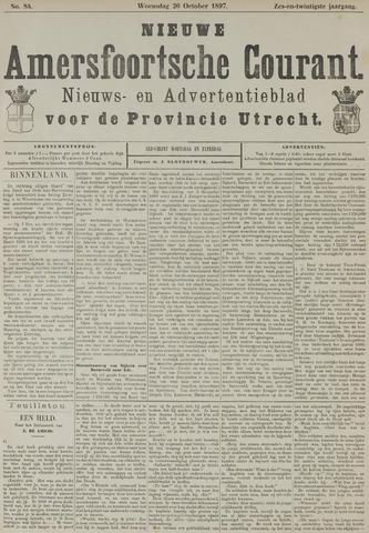 Nieuwe Amersfoortsche Courant 1897-10-20