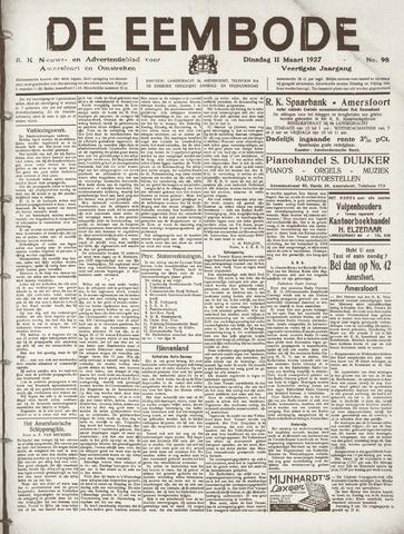 De Eembode 1927-03-08