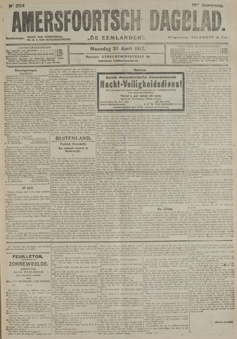 Amersfoortsch Dagblad / De Eemlander 1917-04-30