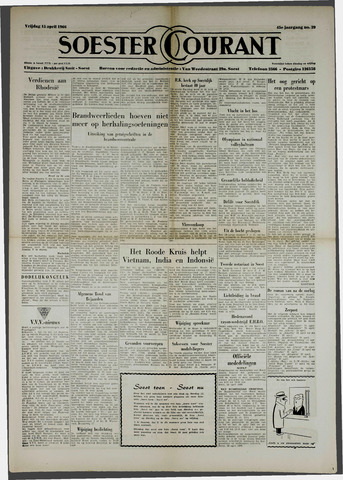 Soester Courant 1966-04-15