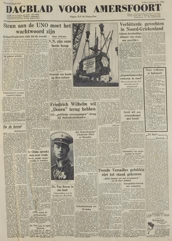 Dagblad voor Amersfoort 1949-04-06