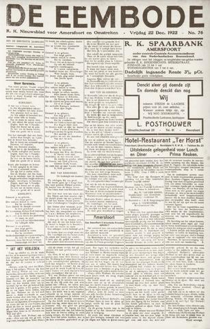 De Eembode 1922-12-22
