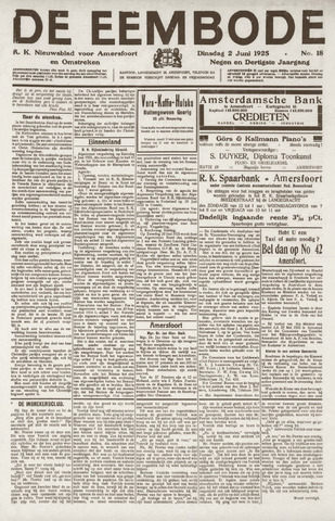 De Eembode 1925-06-02