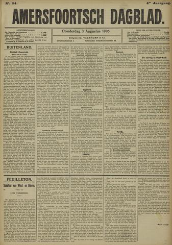 Amersfoortsch Dagblad 1905-08-03