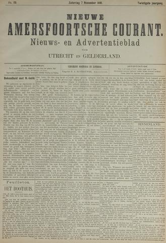 Nieuwe Amersfoortsche Courant 1891-11-07