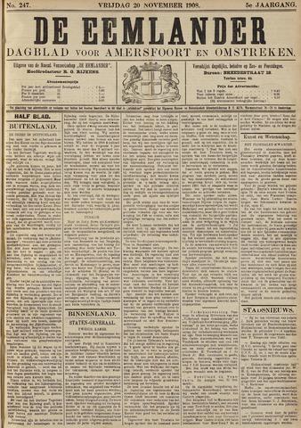 De Eemlander 1908-11-20