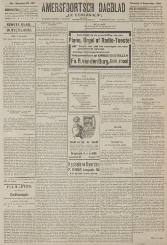 Amersfoortsch Dagblad / De Eemlander 1926-11-02