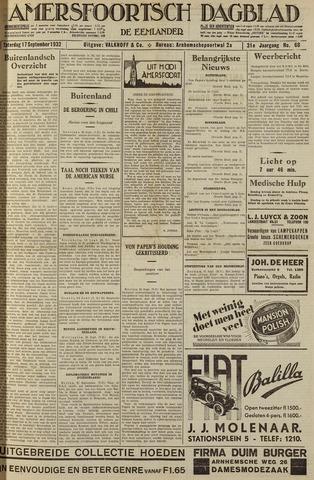 Amersfoortsch Dagblad / De Eemlander 1932-09-17