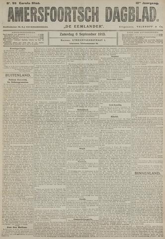 Amersfoortsch Dagblad / De Eemlander 1913-09-06