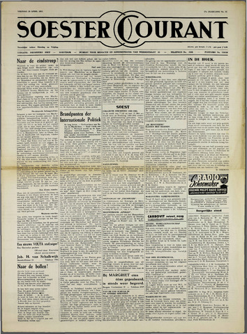 Soester Courant 1951-04-20