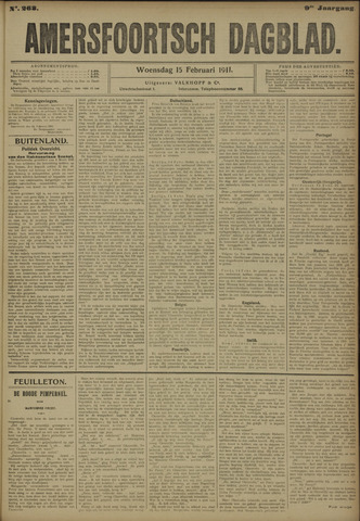 Amersfoortsch Dagblad 1911-02-15