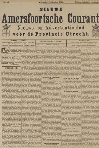 Nieuwe Amersfoortsche Courant 1899-10-18