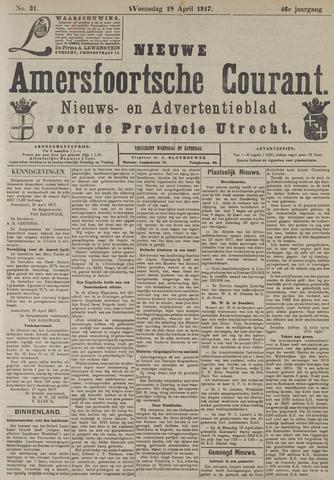 Nieuwe Amersfoortsche Courant 1917-04-18