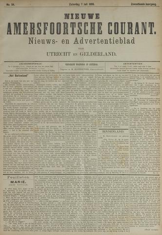 Nieuwe Amersfoortsche Courant 1888-07-07