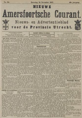 Nieuwe Amersfoortsche Courant 1917-11-24