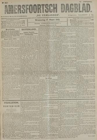 Amersfoortsch Dagblad / De Eemlander 1915-03-17