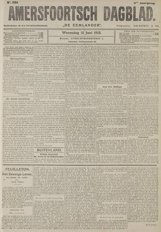 Amersfoortsch Dagblad / De Eemlander 1913-06-18