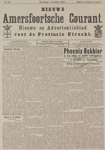 Nieuwe Amersfoortsche Courant 1910-11-09