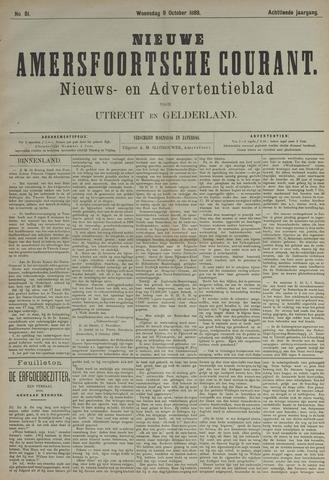Nieuwe Amersfoortsche Courant 1889-10-09