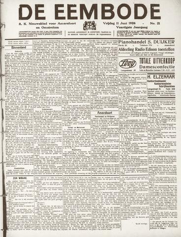 De Eembode 1926-06-11