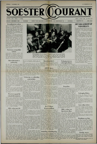 Soester Courant 1963-11-05