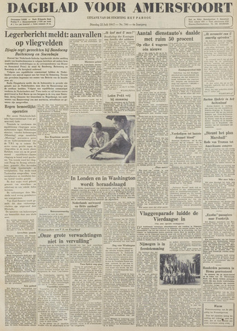Dagblad voor Amersfoort 1947-07-22