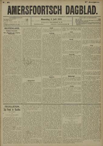 Amersfoortsch Dagblad 1910-07-11