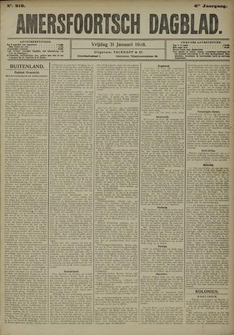 Amersfoortsch Dagblad 1908-01-31