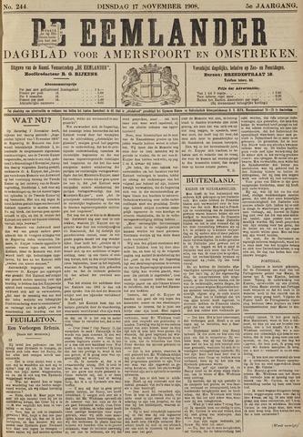 De Eemlander 1908-11-17