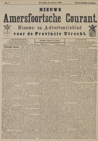 Nieuwe Amersfoortsche Courant 1906-01-24