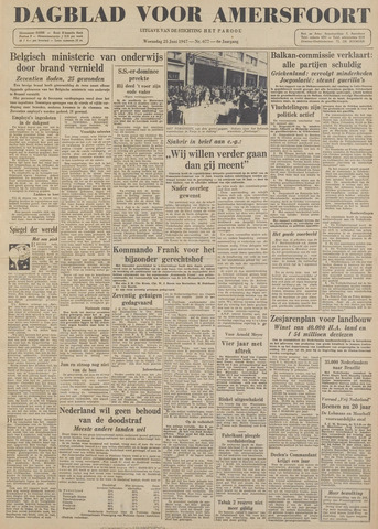 Dagblad voor Amersfoort 1947-06-25