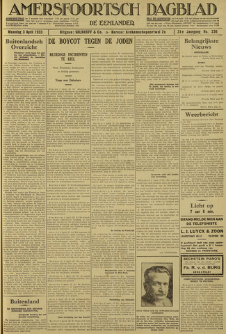 Amersfoortsch Dagblad / De Eemlander 1933-04-03