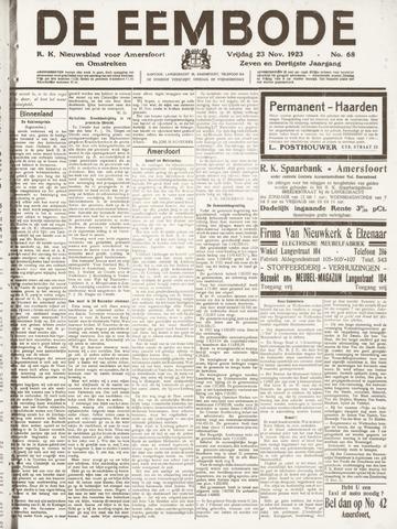 De Eembode 1923-11-23