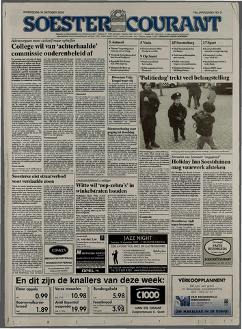 Soester Courant 2000-10-18