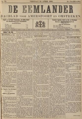De Eemlander 1908-04-24