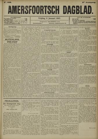 Amersfoortsch Dagblad 1907-01-11