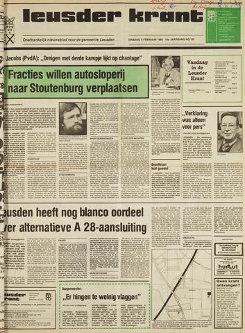 Leusder Krant 1985-02-05