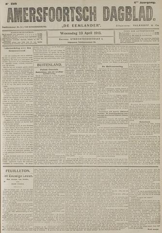 Amersfoortsch Dagblad / De Eemlander 1913-04-23