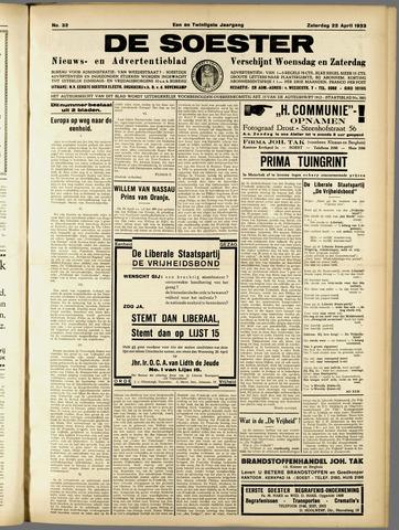 De Soester 1933-04-22