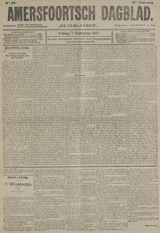 Amersfoortsch Dagblad / De Eemlander 1917-09-07
