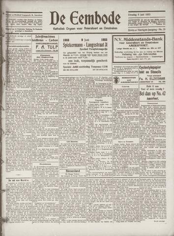 De Eembode 1933-06-06